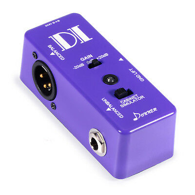 Donner Super Smart Ultra DI Musical Box Micro Direct Balanced XLR Signal