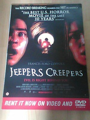 Jeepers Creepers (Gina Philips, Justin Long) 2001 A2 Movie poster