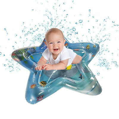 Inflatable Patted Mat Water Cushion Sensory Stimulation Baby Early Education