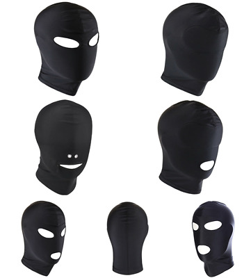 Halloween Unisex Lingerie Headgear Mask Hood Stage Prop Role Play Costumes Masks