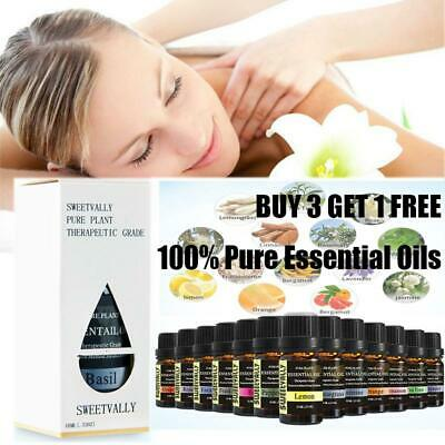 10ML Natural Essential Oils 100% Pure Plant Aromatherapy Essential Oil Fragrance