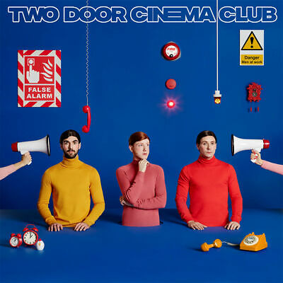 Two Door Cinema Club - False Alarm - CD Album (Released 21st June 2019) New