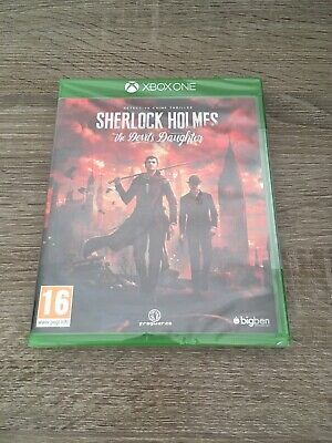 Sherlock holmes the devil daughter - Neuf Sous Blister - Xbox One Version Fr