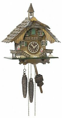 1 day running time cuckoo Clock Black Forest house TU 1515 NEW