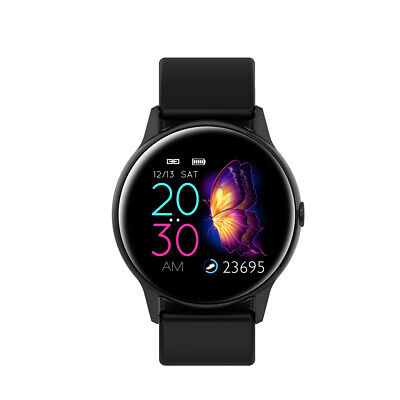 Smartwatch DT88 OLED Puls Uhr Fitness Armband IP68 Wasserdicht iOS Android Black