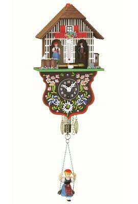 Black Forest Clock Black Forest House Weather House TU 805 S NEW
