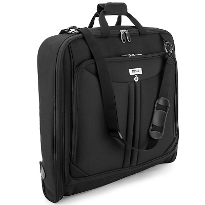 3 Suit Carry On Garment Bag for Travel & Business Trips With Shoulder Strap 4...