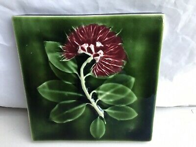 Porteous Arts & Crafts Tile Hand Made in New Zealand