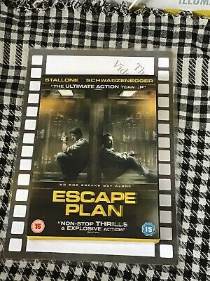 Escape Plan (DVD, Brand New & Sealed)