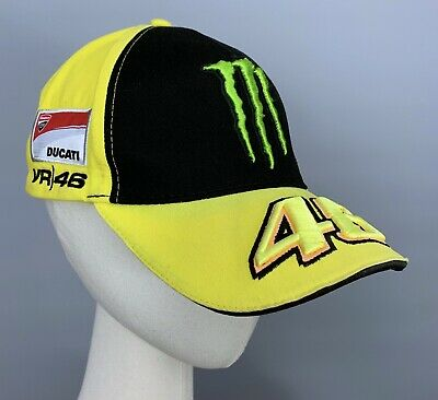 Valentino ROSSI VR46 Official Racing MONSTER DUCATI Cap Hat Moto GP The Doctor