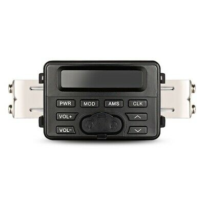 Aoveise Mt723 Support Audio Bluetooth Pour Moto Lecture Externe Mp3 Radio F B4M8