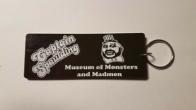 Captain Spaulding museum house of 1000 corpses inspired keychain key chain