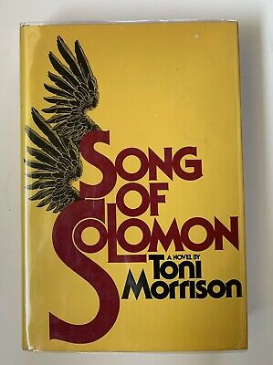 SIGNED Song of Solomon by Toni Morrison 1st/1st SIGNED TWICE