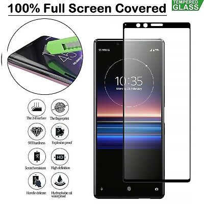Sony Xperia XZ3 XZ2 Tempred Glass Screen Protector Film For Sony Xperia XA2 XA1