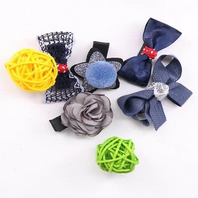 Bowknot Flower Barrette Kids Hair Clips Hair Accessories Headdress Hairpin