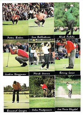 Golf : Players of the 1993 Ryder Cup : UK Sheridan sports card set