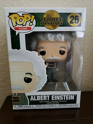 Funko Pop! Icons Albert Einstein Pop Figure (In Stock)