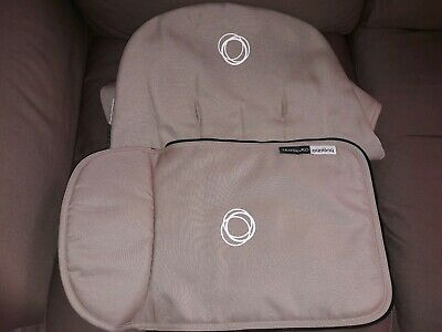 Bugaboo cameleon 1 and 2 Apron and seat liner sand beige canvas