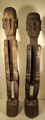 GREAT & BIG - a PAIR of ancestral figures from Southeast Asia Figure 19-20 c?