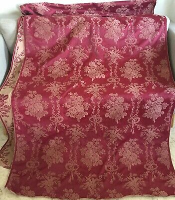 tissu ameublement Grand coupon Style Louis XVI No Soie 2mx1,25m