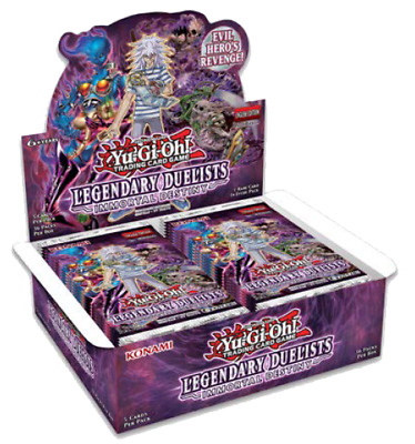1 Case (12 Boxes) YuGiOh Legendary Immortal Destiny Booster Sealed Eng Preorder