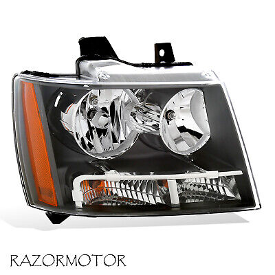 2007-2014 Right Replacement Headlight For Chevy Suburban/Tahoe/Avalanche W/ Bulb