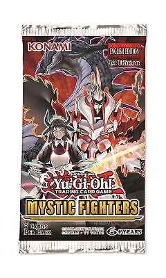 Yu-Gi-Oh Mystic Fighters Booster Pack 1st Ed Sealed English Yugioh Preorder