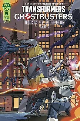 Transformers Ghostbusters #5 (Of 5) Cvr A - Pre-Order (See Description For Detai