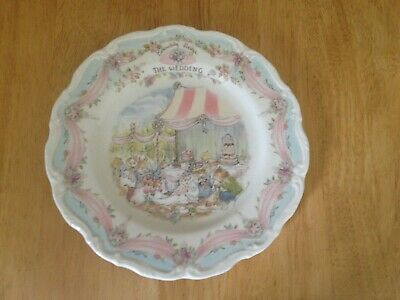 Royal Doulton Brambly Hedge The Wedding Plate