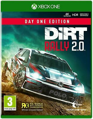Dirt Rally 2.0 Day One Edition (Xbox One) New & Sealed