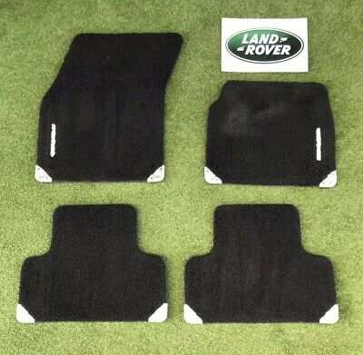 2014- Range Rover Evoque Velour Tufted Tailor Fitted Car Mats