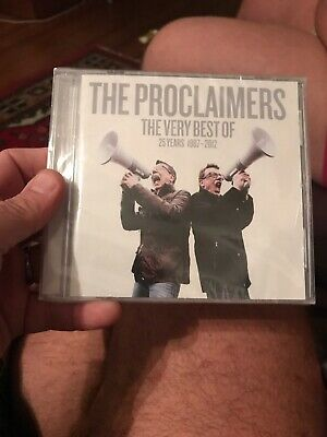 The Proclaimers - Very Best Of (25 Years 1987-2012, 2013) Brand New Sealed
