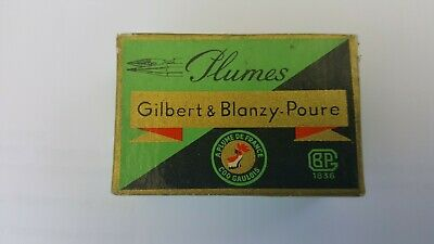 boite scellée 144 plumes l'expeditive n° 632 Gilbert & Blanzy-Poure