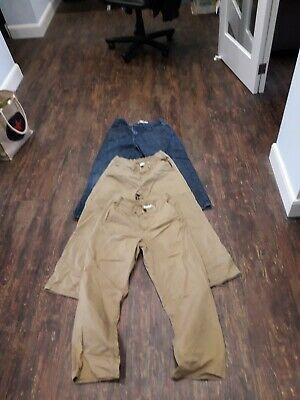 3 PAIRS BOYS JEANS GENEROUS FIT   11 YEARS   HEIGHT 146cm  USED