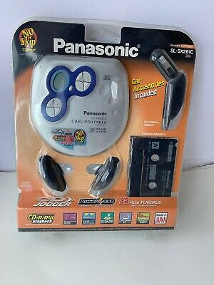 New Panasonic SL-SX281CP Car Portable CD Player Discman Walkman Skip Protection