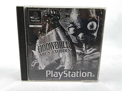 ODDWORLD : ABE'S EXODDUS. PS1 Game (PlayStation One, PS2, PS3. PAL)