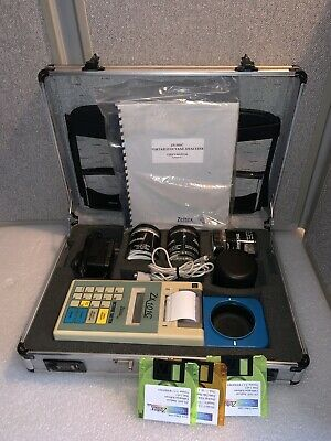 Zeltex ZX-101C Portable Octane Meter Analyzer - COMPLETE SET!!  MAKE AN OFFER!!!