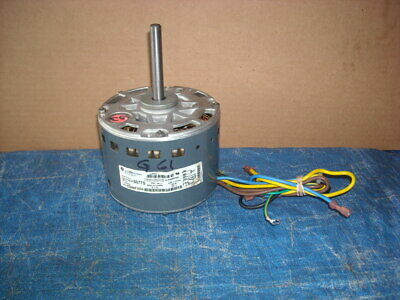 Gc11-Ge Comm Motors 1/4Hp 5Kcp39Hg Blower Motor For Hvac 1075 Rpm 2 Speeds 1.5A