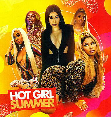 "Megan, Nicki, Lizzo, City, Cardi, Trina-  ""hot Girl Summer"". Mix Cd. Aug/sept 19"