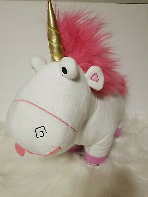 "Despicable Me 17"" Agnes' Unicorn Fluffy Plush"