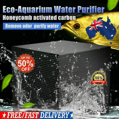 Eco-Aquarium Water Purifier Cube 100% ORIGINAL Aquarium Water Cleaning AU HOT
