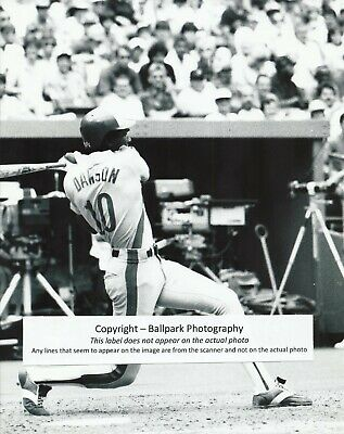 Andre Dawson 1977 Rookie of the Year Montreal Expos All-Star HOF 8x10 Photo