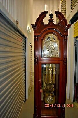 Howard Miller Grandfather Clock model 610-904 working and serviced