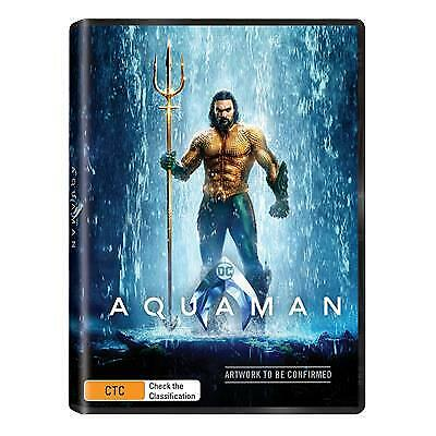 Aquaman (DVD, 2019) (Region 4) New Release