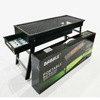 Outdoor Foldable BBQ Charcoal Grill Portable Barbecue Camping Picnic Hibachi