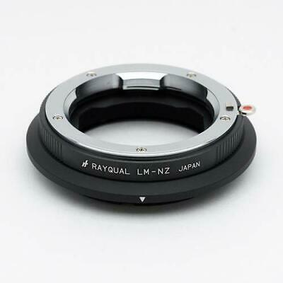Kindai(Rayqual) Mount Adapter for Nikon Z body to Leica M Lens Japan made