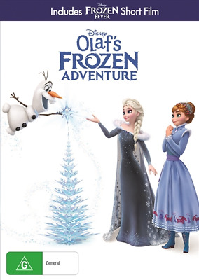 Olaf's Frozen Adventure (DVD, 2018) (Region 4) New Release