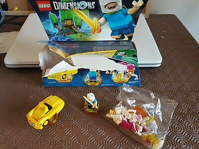 Lego Dimensions Adventure Time Level Pack (71245) 100% Complete.