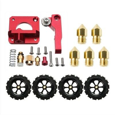 Extruder Drive Kit+4X Leveling Nuts + 5X 0.4mm Nozzle For Creality Ender 5/3 Pro