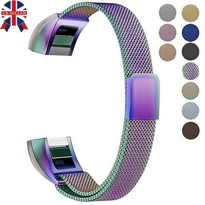 For Fitbit Alta / Alta HR Magnet Milanese Stainless Watchband Strap Small Large